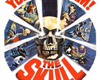 The Skull Movie POSTER (1965) Horror/Thriller