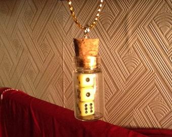 tiny dice christmas ornament