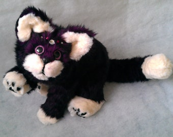 SOLD Bella the Cat Poseable Art Doll (AVAILABLE made to order)