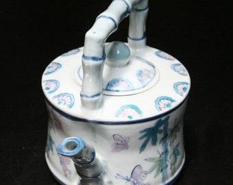 Butterflies & Bamboo Teapot