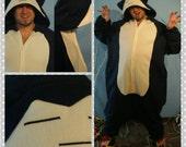 Pokemon Onesie Snorlax Inspired//Pokemon Kigurumi, Adult Onesie, Pokemon Cosplay, Snorlax Inspired Cosplay, Snorlax Costume, MADE TO ORDER