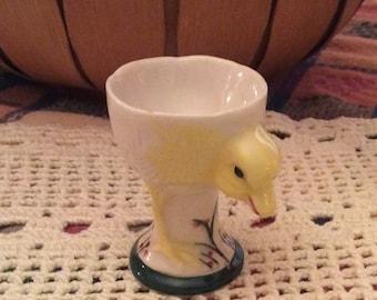 Vintage Duckling Egg Cup, Japan