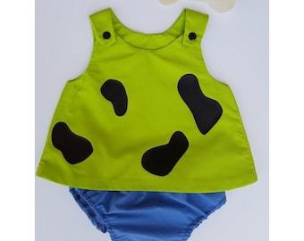 cave girl costume, baby halloween costume, toddler costume, girls costume, baby girl costume, family costume
