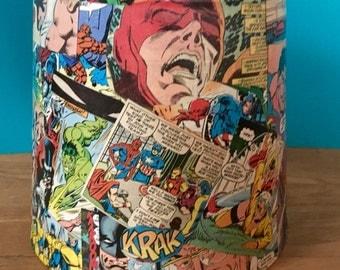 Custom Comic Book Lamp Shade