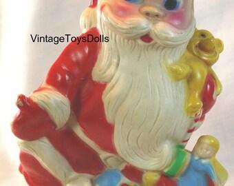 Vintage Dreamland Creations Santa Claus Squeaky Toy