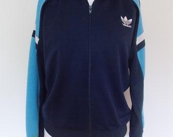 Vintage Adidas jacket 90s sports style jacket size medium large