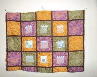 32x39 inch Prayer Quilt (Wall Hanging) 041