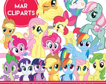 MY LITTLE PONY cliparts