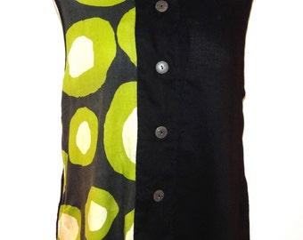 Contemporary Sleeveless Tunic - FA15-5034
