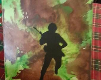 Soldier Crayon Art