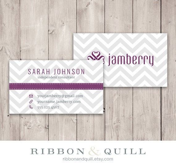 Vistaprint business card template playbestonlinegames jamberry nails business card chevron custom pdf printable template fbccfo Images