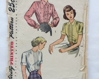 Simplicity printed pattern - 2224 - Misses' and Women's Blouse