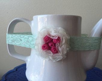 Rosette Baby Headband