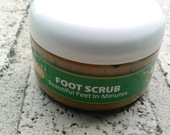 4 fl. oz (8oz wt.) Beautiful Feet in Minutes Foot Scrub