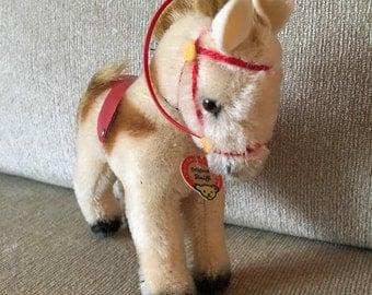 Steiff - horse with saddle