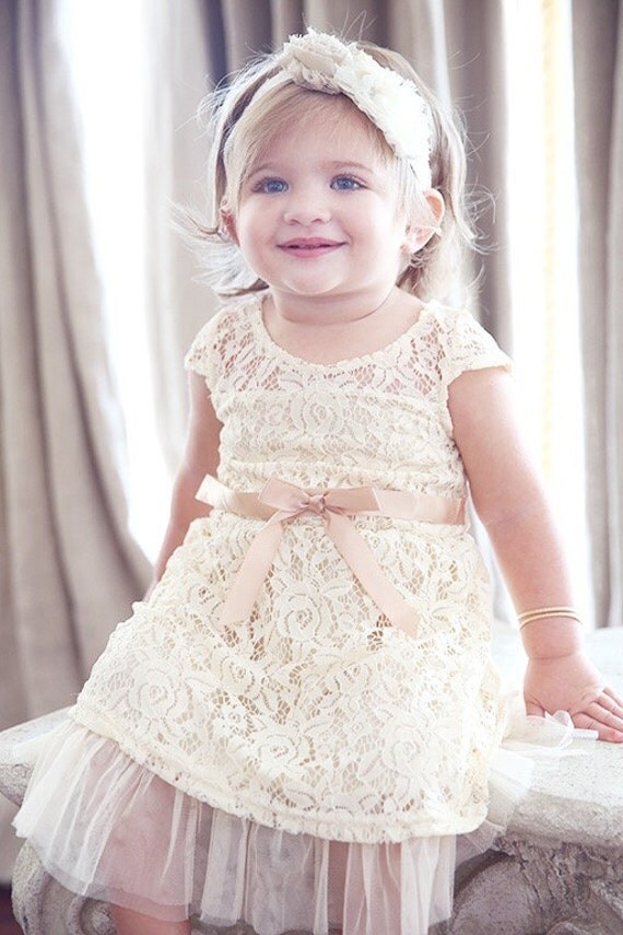Lace Baby Dress Lace Girl Dress Flower Girl Dress By