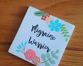 Migraine Warrior. Christmas Gift. Chronic disease. Migraine gifts. Motivational gift. Inspirational Gift.