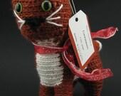 Cinnamon the Crochet Cat