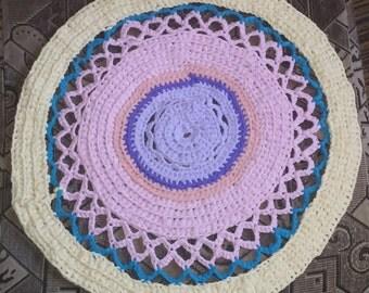Pastell rag rug