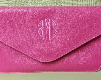 Envelope Clutch Bag - Monogrammed