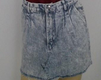 Denim Skirt 003