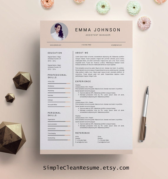 Creative Resume Template Creative Resume Design Resume