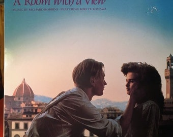 Vintage Vinyl Record - A Room with a View Soundtrack - 1986