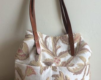 Repurposed Tapestry Bag