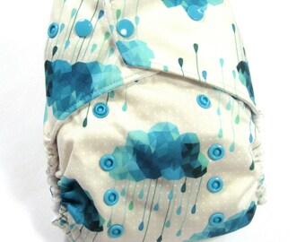 Blue Storm OS Pocket Diaper