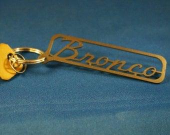 FORD BRONCO Titanium Keychain