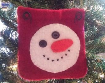 Snowman Gift Pocket