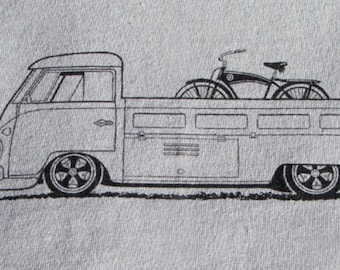 Bicycle T Shirt Bike with VW Singlecab