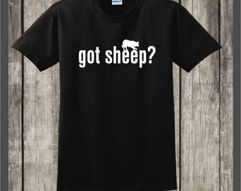 Border Collie T-shirt Got Sheep #038 Great gift for the Border Collie herding, working sheep dog lover!