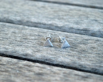 Triangle Earrings / / triangle earrings