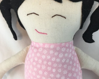Daisy Doll with pig-tails