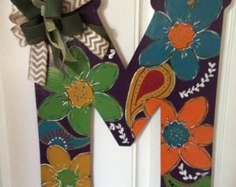 Custom Letter Door Hanger