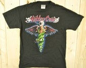 Vintage 1989 Motley Crue Dr. Feelgood T-Shirt / Crue Fans are the Best F**k the Rest / Retro Collectable Rare