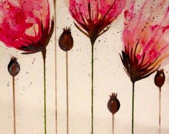 Art151 - Poppy Burst