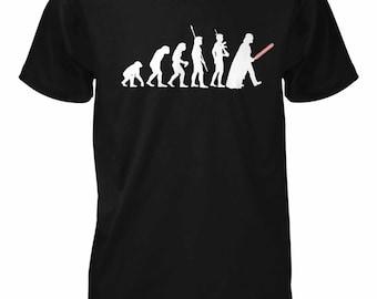 New Evolution Of Vader Starwars Light Saber Deathstar Parody T Shirt All Sizes