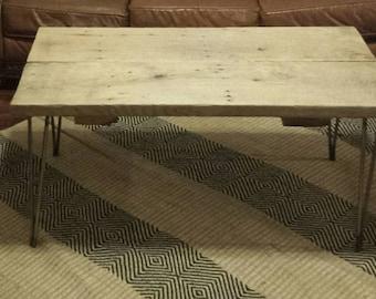 Hand made reclaimed coffee table.