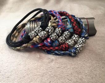 Skull Bracelet, Paracord Bracelet, Paracord Skull Bracelet, Men's Bracelet, Cord Bracelet