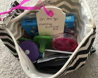 On the Go Mommy Survival Kit