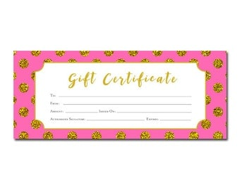 blank birthday gift certificate template for kids