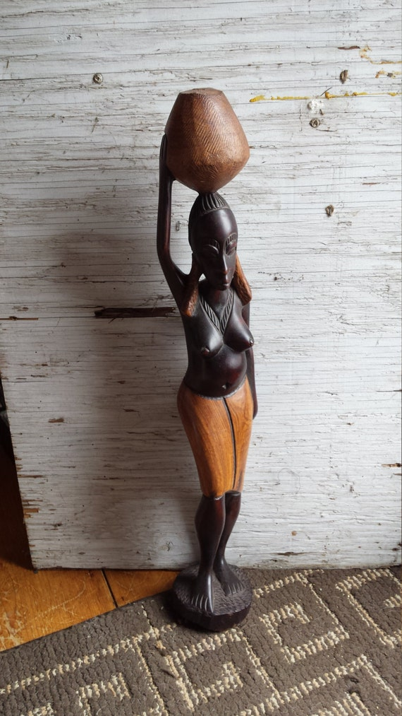 Tribal Carving of an African Woman.