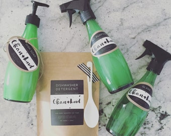 Natural Cleaning Products with Essential Oils