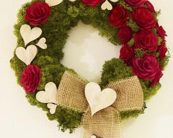 DIY St Valentine's Wreath
