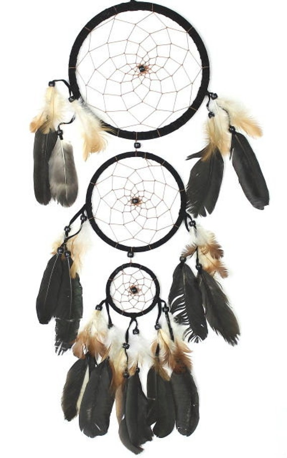 Feather Rain Dreamcatcher , Dream Catcher, Wall Hanging, Home Decor