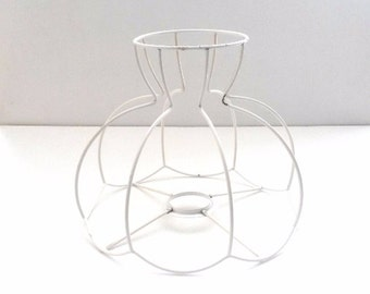 Lamp shade frame / wire frame, Authentic vintage lampshade wire frame. / lampshade frame #5E8GFAK29