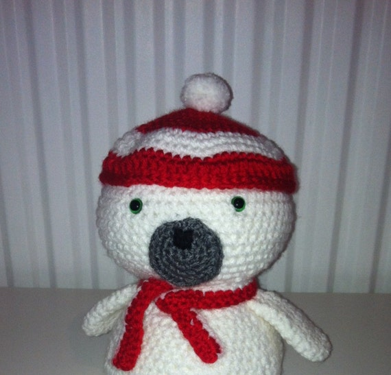 Stitch Amigurumi Crochet Pattern : Baby Seal Amigurumi Seal Crochet Handmade Soft by ...