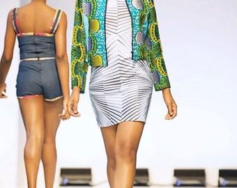 ON SALE! AIMEEKU - Berna Waxprint Jacket